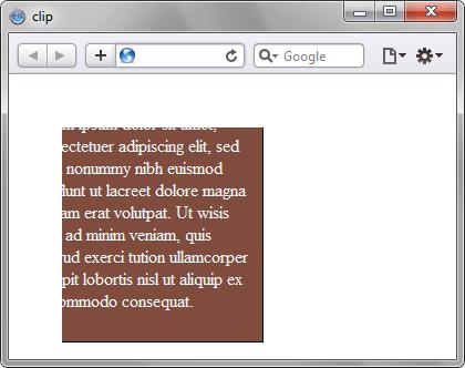 Применение clip в браузере Safari